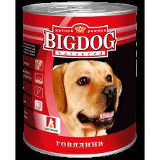 """Зоогурман """"BIG DOG"""" Говядина ж/б 850гр"""