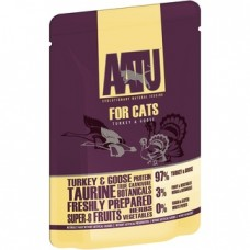 AATU Консервы Паучи для кошек Индейка и Гусь (AATU FOR CATS TURKEY & GOOSE) WACTG85   AATU FOR CATS TURKEY & GOOSE, 0,085 кг