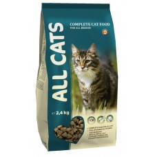 42AL667 ALL CATS Корм д/кошек 2,4кг*5