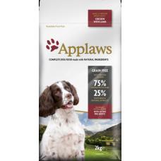 """Applaws Беззерновой для Собак малых и средних пород """"Курица и Ягненок/Овощи: 75/25%""""(Dry Dog Lamb Small & Medium Breed Adult), 7,5 кг"""
