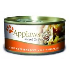 Applaws Консервы для Кошек с Куриной грудкой и Тыквой (Cat Chicken Breast & Pumpkin) 2010CE-A, 0,156 кг