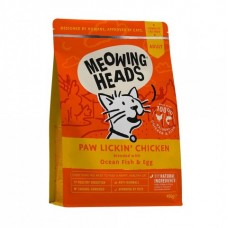 "Barking Heads Для Взрослых кошек с Курицей и рисом ""Куриное наслаждение"" (Paw Lickin' Chicken 450g) MCK450 | Paw Lickin' Chicken 450g, 0,45 кг"