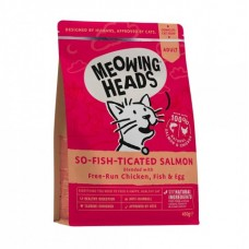 "Barking Heads Для Взрослых кошек с Лососем, курицей и рисом ""Фиш-гурман"" (So-fish-ticated Salmon 450g) MSL450 | So-fish-ticated Salmon 450g, 0,45 кг"
