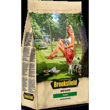 BROOKSFIELD 5651000/310003 Puppy Сухой корм для щенков Говядина/рис 800гр *8