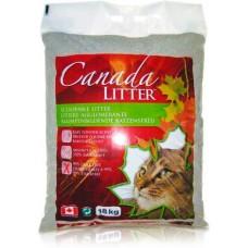 "Canada Litter Канадский комкующийся наполнитель ""Запах на Замке"", аромат детской присыпки (Scoopable Litter), 12 кг"
