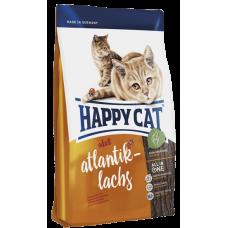 Happy Cat Эдалт (атлант. лосось) ФитВелл - 10 кг