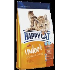 Happy Cat Эдалт ИНДОР (атлант. лосось) ФитВелл - 1,4 кг