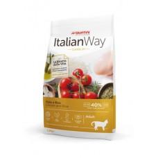 Italian Way Безглютеновый корм для кошек с курицей и рисом (ITALIAN WAY CHICKEN/RICE) GITWA05080, 8 кг