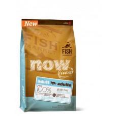 NOW FRESH Беззерновой для Взрослых Кошек с Форелью и Лососем для чувств. пищеварения (Grain Free Fish Adult Recipe CF) 30/19, 1,81 кг