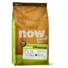 NOW FRESH Беззерновой для Взрослых собак Малых пород с Индейкой, Уткой и овощами (Fresh Small Breed Adult Recipe Grain Free 27/17), 5,44 кг