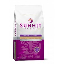 Summit Для котят и кошек три вида мяса с цыпленком, лососем и индейкой (Original 3 Meat, Indoor Cat Recipe CF), 1,8 кг